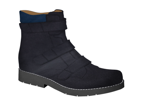 N328/3 Jeans Nubuck Velcro