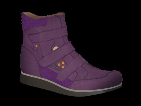 L122/1 Violet Aniline Velcro