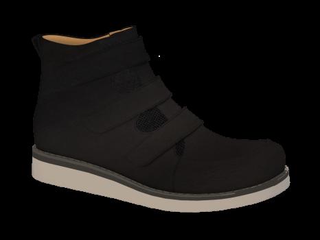 R552 Black Wax Leather Velcro