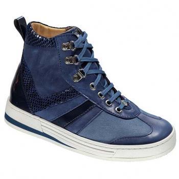 V1430/4 Jeans Aniline Combi Lace