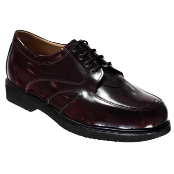 F1605 Burgundy Polished Leather Lace