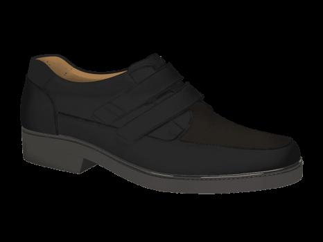 R502/3 Black Aniline Velcro
