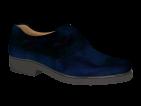F1603 Dark Blue Polished Leather Velcro