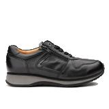 L1602/19 Black Leather Combi