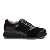L1602/21 Black Fantasy Leather Combi