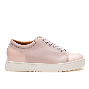 S1825 Pink Leather Combi