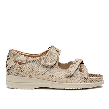 S1814 Lizzard Beige Leather