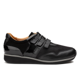L1602/12 Black Fantasy Leather Combi