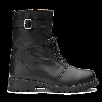 L1602/9 Black Leather
