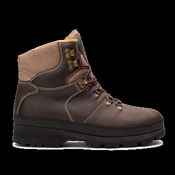 WP594 Brown Waterproof Wax Leather