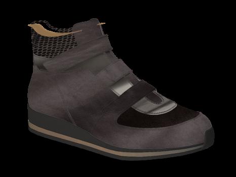 V1892/6 Carbon Fantasy Leather Combi