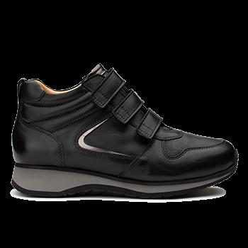 L1602/17 Black Leather