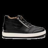 L1672/2 Black Fantasy Leather Combi