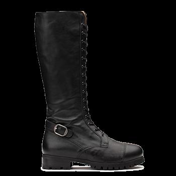 L1602/8 Black Leather