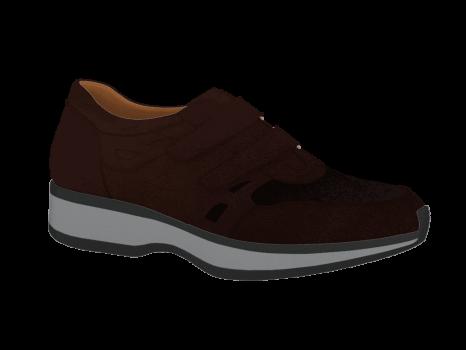 N1604/4 Brown Nubuck