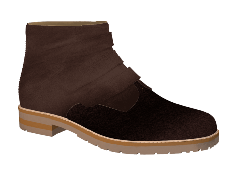 X864 Brown Wax Leather