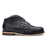 JJN057 Navy Fantasy Leather Combi