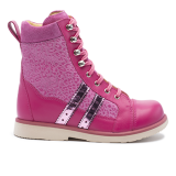 017 Fuchsia fantasy leather