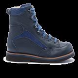 019 Navy grain leather