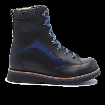 020 Black leather