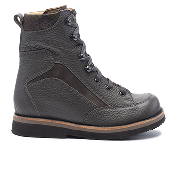021 Grey grain leather