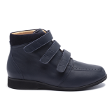 063 Navy leather