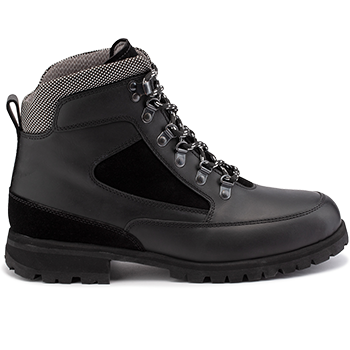 Everest - WP592/WP452 waterproof leather black combi