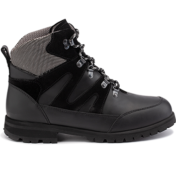 WP592/WP452 waterproof leather black combi