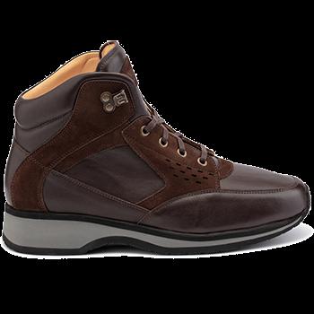Perry - L1674/X864/N1604 leather dark brown combi