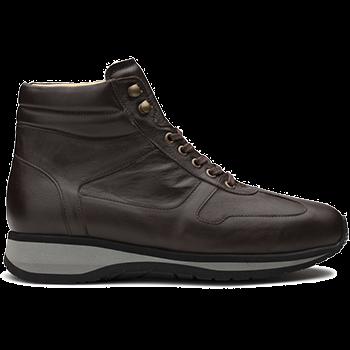 Derrel - L1674/X864 leather dark brown