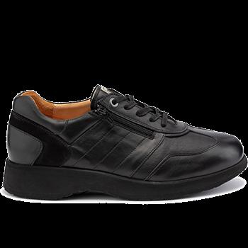 Dublin - L1602/X852 leather  black combi