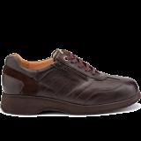 L1674/X1874 leather dark brown combi