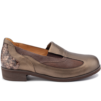 Michelle - E20422/X1874 fantasy leather brown combi