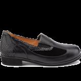 L1602/X872 fantasy leather black combi
