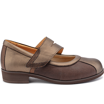 Marly - E20422/X1874 fantasy leather brown combi
