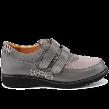 Marianne - L1617/X881 fantasy leather grey combi