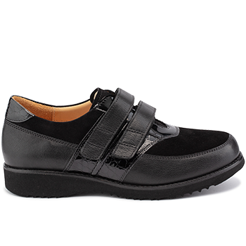 Marianne - E20278/X872 fantasy leather black combi