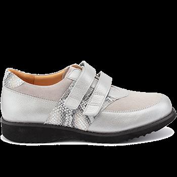 Marianne - E20411/X1832 fantasy leather light grey combi