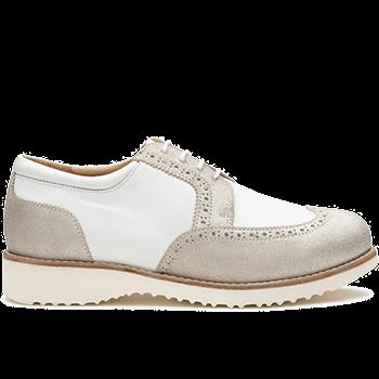 Barbara - Y1620/X1851 leather white/silver combi