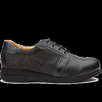 Sharon - X852/L1602 fantasy leather black combi