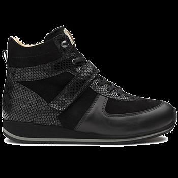 Gaby - L1672/X872 fantasy leather black combi