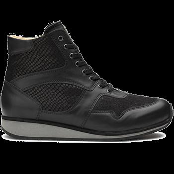 Mia - L1602/X860 fantasy leather black combi