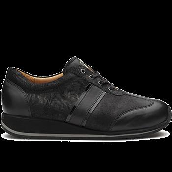 Dionisia - L1602/X860 fantasy leather black combi