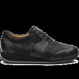 L1602/X860 fantasy leather black combi