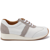 L1601/X1851 leather white/grey combi
