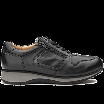 Jenny - L1602/X852 leather black combi