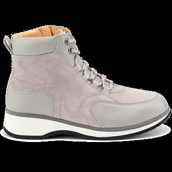 Jena - L1630/X1832 leather grey combi