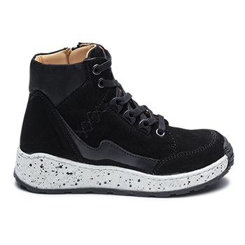 Jordan - P452/R552 Split Suede Black Combi