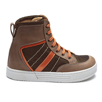 Bambi - R1955/K1906 Waxed Leather Brown Combi