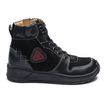 Tyler - R552/P452 Waxed Leather Black Combi